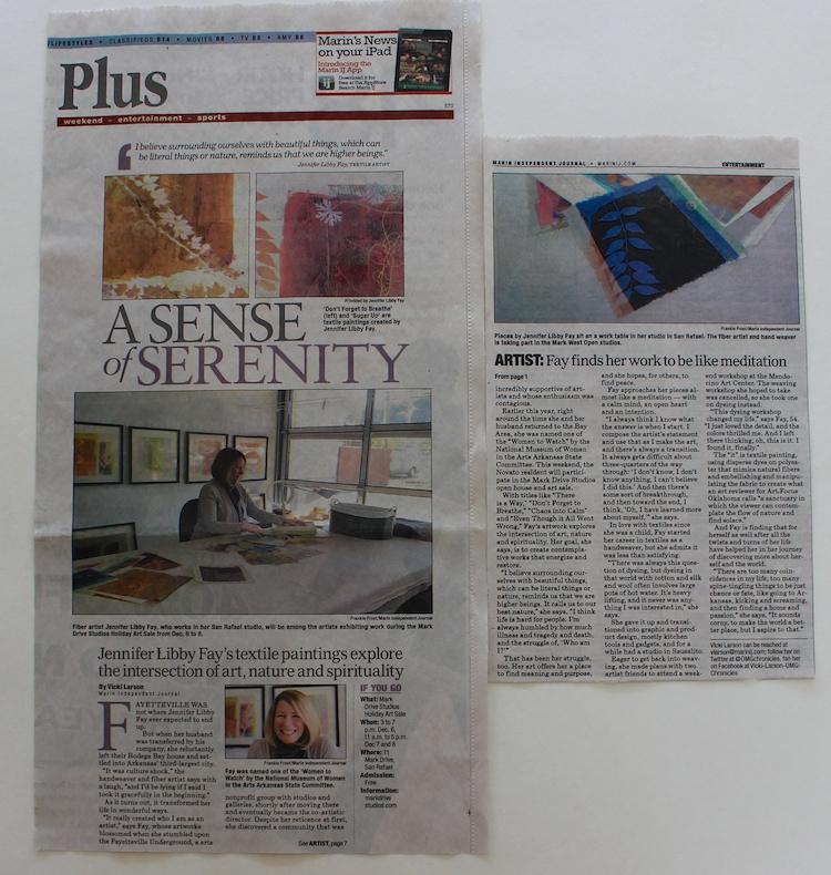 Marin Independent Journal, December 5, 2013