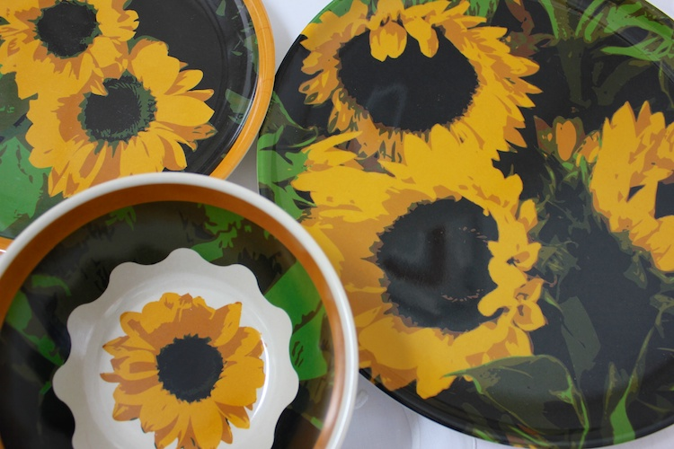Sunflower Dinnerware